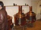 15_Exponáty v pivovarském muzeu, jenž nahrazovalo prohlídku pivovaru