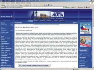 Český rozhlas - prosinec 2000