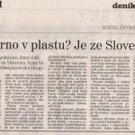 Brněnský deník-Rovnost - srpen 2009